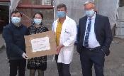 A Pest Megyei Flór Ferenc Kórház is kapott maszkadományt