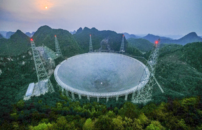 A világ legnagyobb teleszkópját nyitja meg Kína