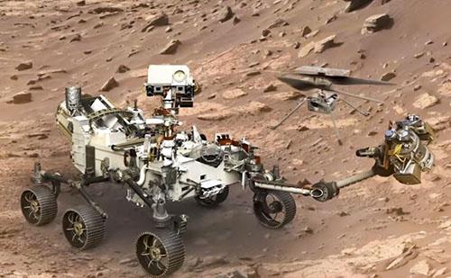 Helikoptert küld Kína a Marsra