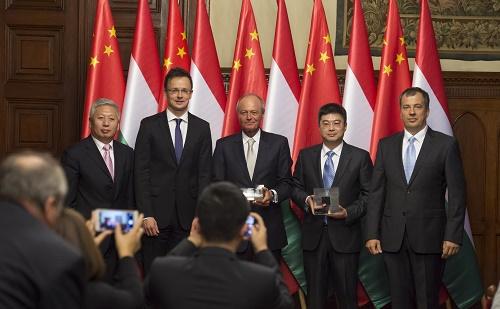 Átadásra került a Kínai-magyar barátságért díj
