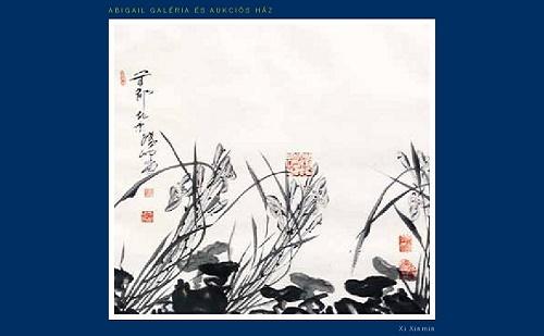Megnyílt Xi Xinmin kínai festőművész kiállítása