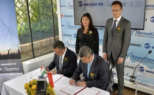 A magyarországi gyártást legmagasabb technológiai színvonalra emeli a Huawei és a Borsodchem