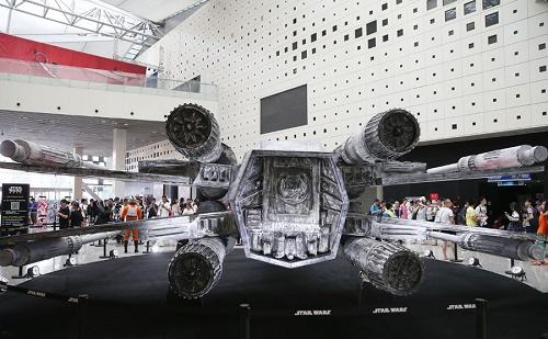 Shanghai, Expo, animáció