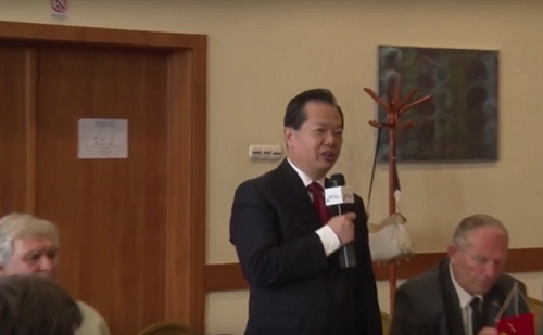 Wang Jinzheng CCPIT alelnök beszéde