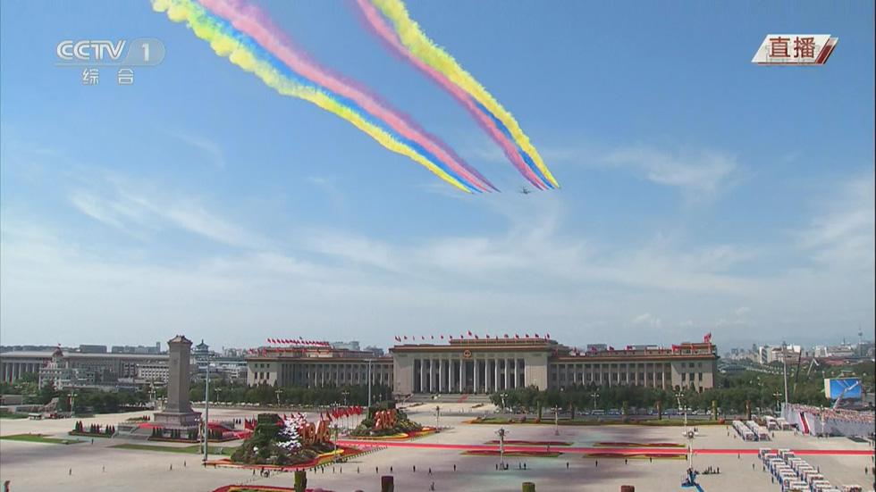 Győzelem Napja, Kína