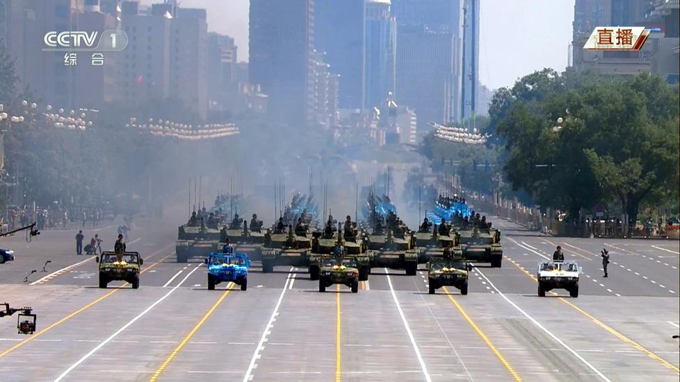 Díszszemle, Kína, Győzelem Napja