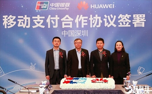Huawei Pay, Huawei, China Union Pay
