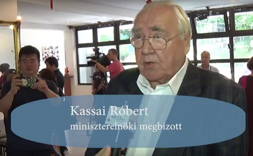 Riport Kassai Róberttel a kínai-magyar szoborkiállítás kapcsán