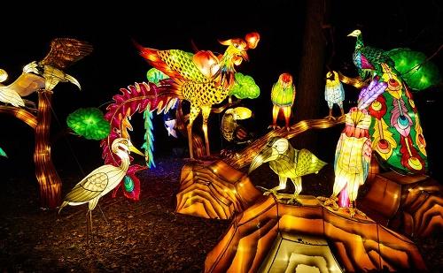 Kínai lampionkiállítást nyílt az Állatkertben