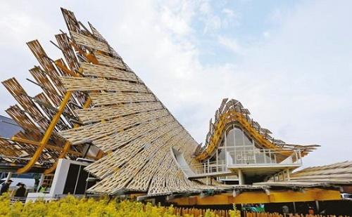 Elkészült a Milánói Expo kínai pavilonja