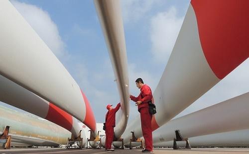 Kína leelőzi az EU-t szélenergiában