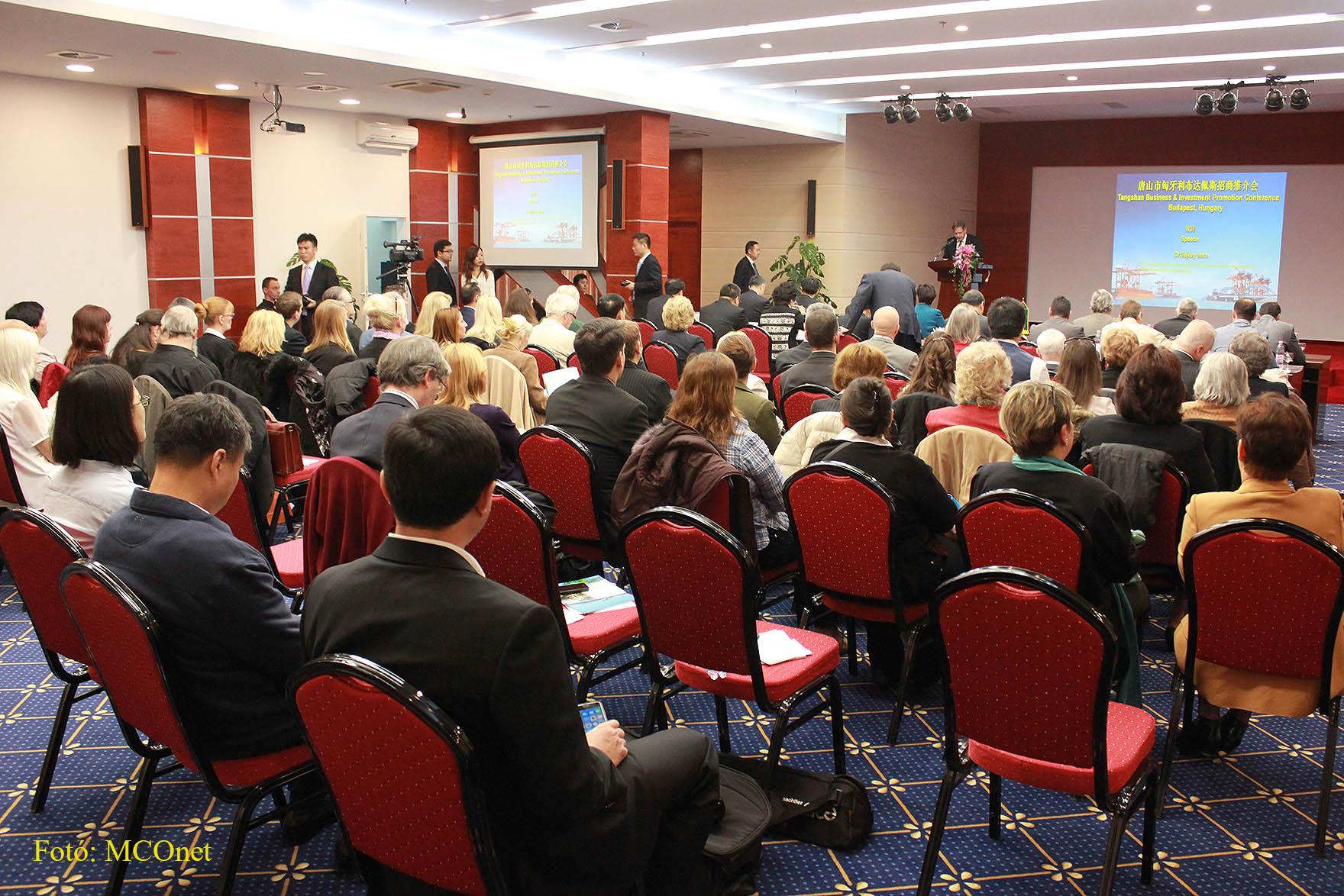 Tangshan-Budapest Befektetési és Fejlesztési Konferencia