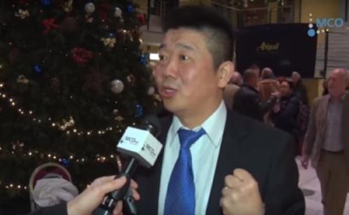 Wei Jin Qiu vezető asztalitenisz edző riportja