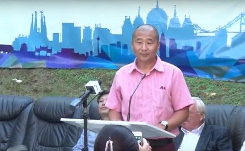 Yu Debin, a Magyar-Kínai Művészeti, Kulturális Szövetség elnökének beszéde