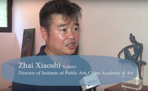 Interjú a kínai-magyar szoborkiállítás résztvevőivel